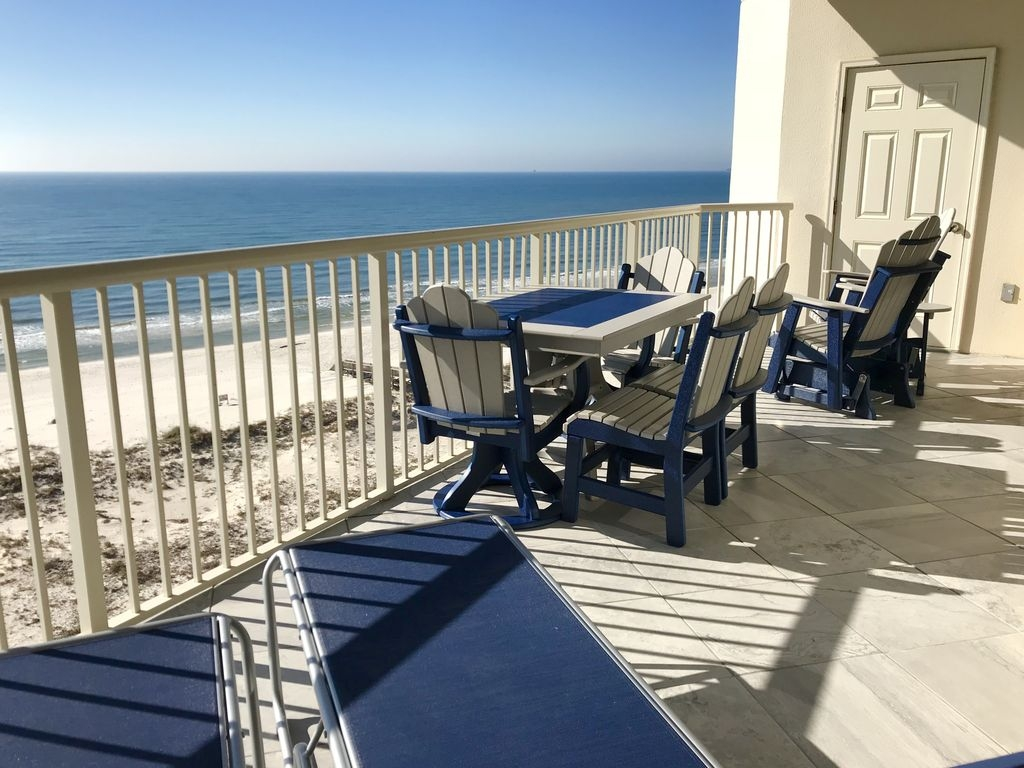 Beach Club Gulf Front Spectacular View Clean Duvet Every Guest Just Updated Vacation Condo Alabama Home Als