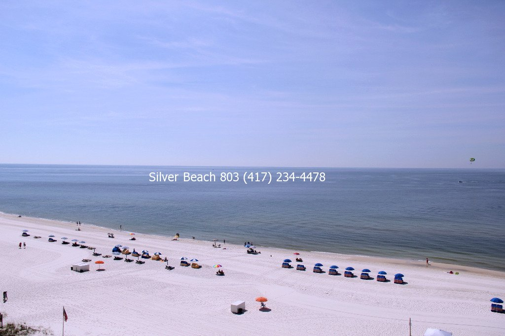 Direct Beachfront Condo Silver Beach 803 Orange Beach